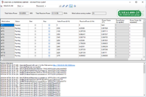 Figure 8 - Client application used to monitor and control the WPPS